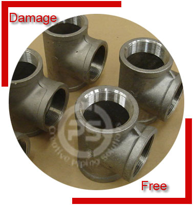 ASTM A182 F22 Forged Pipe Fittings Packing & Forwarding