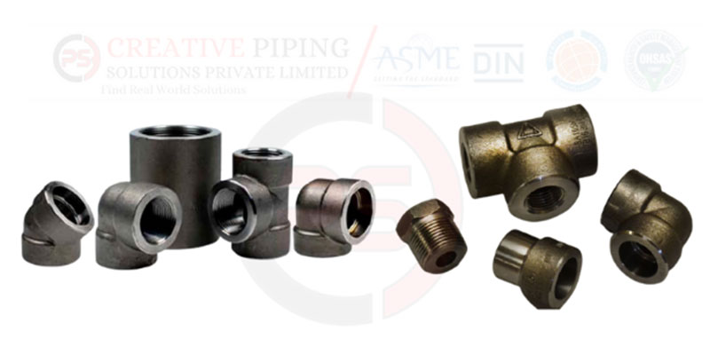 Carbon Steel ASTM A105 Forged Fittings Manufacturer