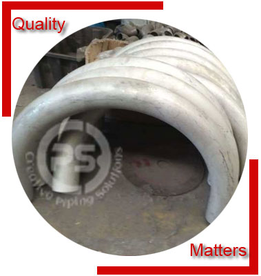 Buttweld 180 Degree Elbow Material Inspection