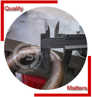 Buttweld U Pipe Bend Material Inspection