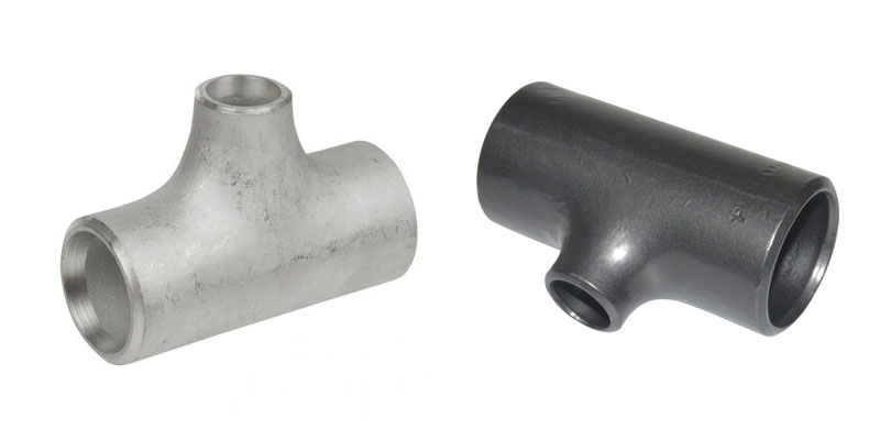 ANSI/ASME B16.9 Buttweld Unequal Tee Suppliers