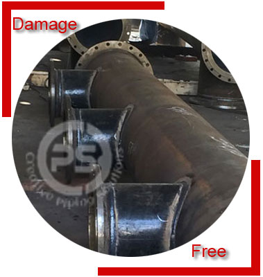 Carbon Steel Fabricated Pipe Headers/Alloy Steel Fabricated Pipe Headers Packing & Forwarding
