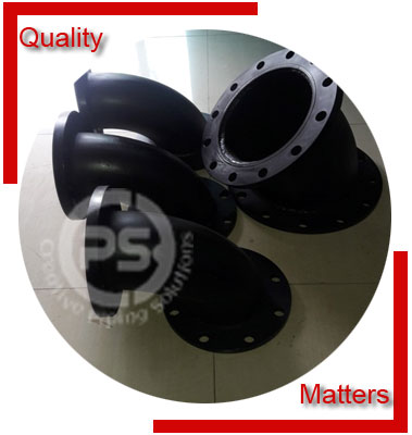 Alloy Steel Flanged Elbow Material Inspection