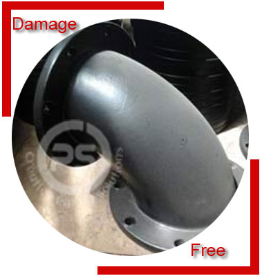 Carbon Steel Flanged Elbow/Alloy Steel Flanged Elbow Packing & Forwarding
