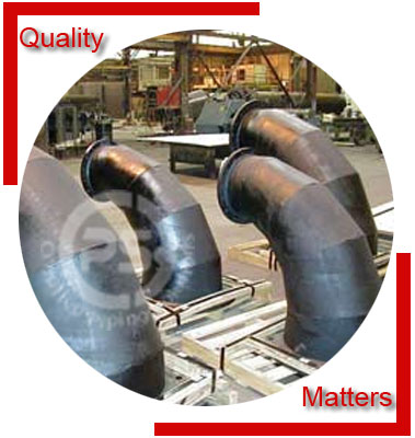 Alloy Steel Mitered Bends Material Inspection