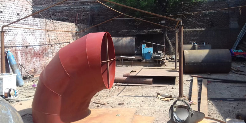 Carbon Steel Mitered Pipe Bends Manufacturer