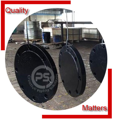 Carbon Steel A694 Pipe Flanges Material Inspection