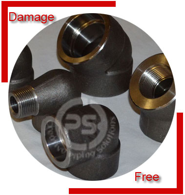 Carbon Steel ASTM A694 Forged Fittings Material Inspection