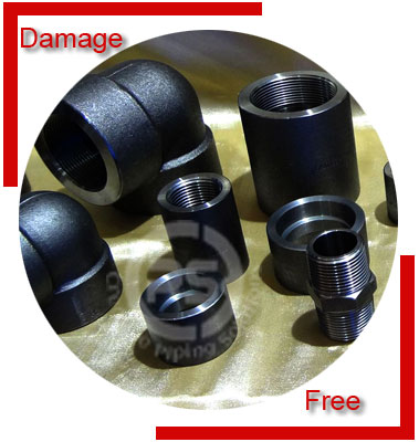 Carbon Steel ASTM A694 Forged Fittings Packing & Forwarding