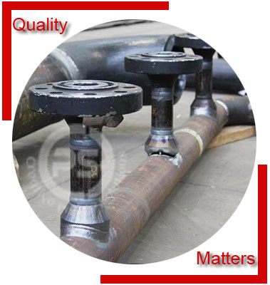 Alloy Steel FBE Coated Pipe Spool Material Inspection