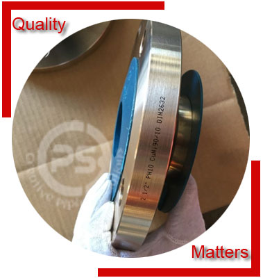 90/10 Copper Nickel Flanges Material Inspection