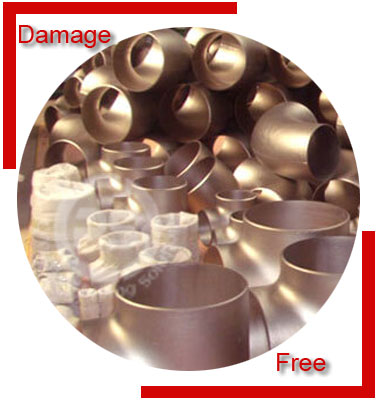 Cupro Nickel 90/10 Pipe Fittings Packing & Forwarding