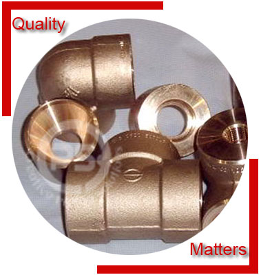 Cupro Nickel 90/10 Forged Fittings Material Inspection