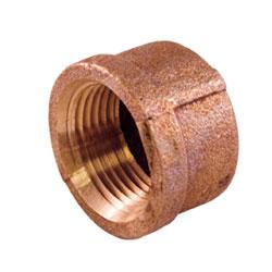 Cupro Nickel 90/10 Threaded Cap