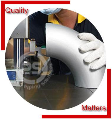 Duplex 2205 Buttweld Fittings Material Inspection