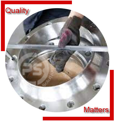 Duplex 2205 Flanges Material Inspection