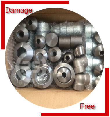 Duplex Steel S32205 Forged Fittings Packing & Forwarding