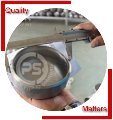 Buttweld Pipe Cap Material Inspection