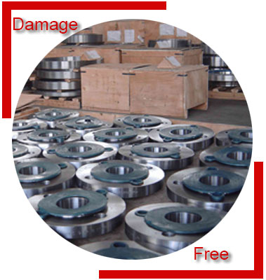 ANSI B16.5 BS 10 Flanges Packing & Forwarding