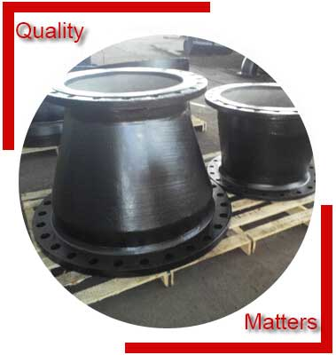 Flanged Concentric Reducer Inspection