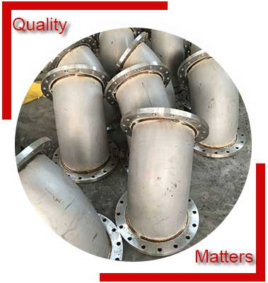 Steel Flanged Elbow Inspection