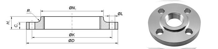 ASME B16.47 / ANSI / ASME B16.5 EN 1092-1 Type 13 Flange Manufacturer
