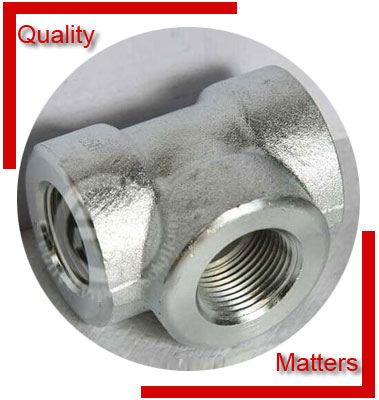 ANSI/ASME B16.11 Threaded Unequal Tee Material Inspection