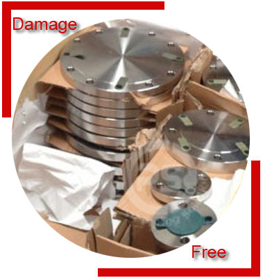 Inconel Alloy 601 Flanges Packing & Forwarding