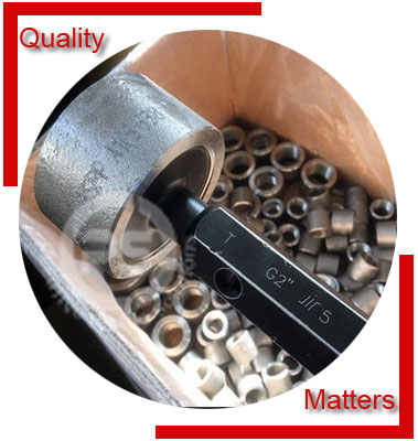Inconel 600 Forged Fittings Material Inspection