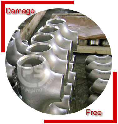 Inconel Alloy 600 Pipe Fittings Packing & Forwarding