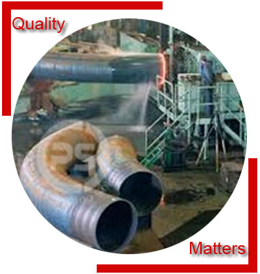 Buttweld Hot Induction Pipe Bends Material Inspection