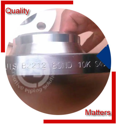 JIS B2220 Flanges Inspection