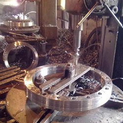 Manufacturing Process of Alloy Steel F22 Flanges