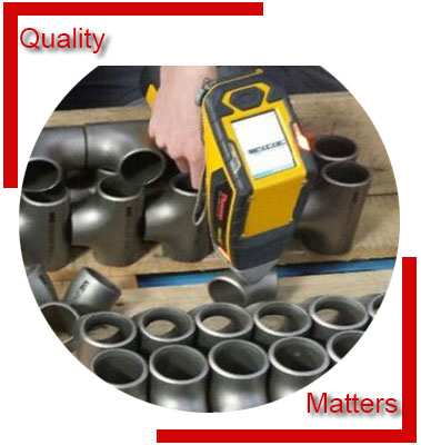 AISI 4130 Pipe Fittings Material Inspection
