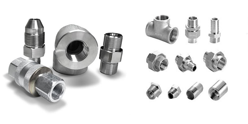 Monel 400 Forged Threaded Fittings Manufacturers