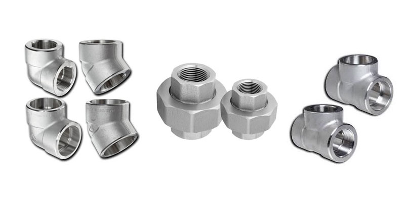 Monel k500 Forged Threaded Fittings Manufacturers
