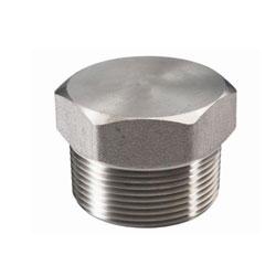 Nickel 200 Threaded Hex Plug