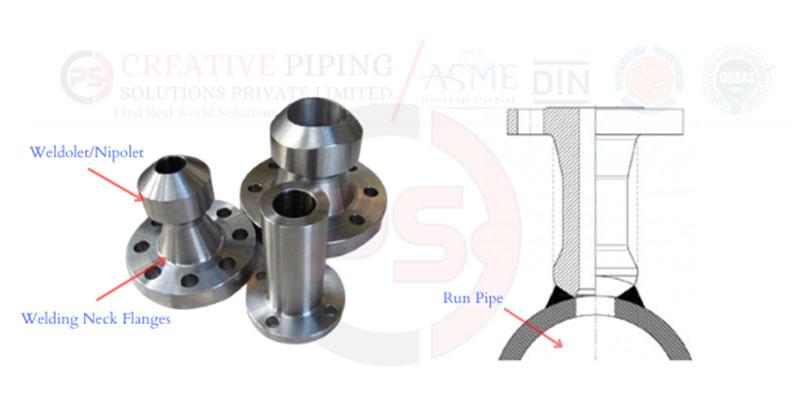 ASME B16.47 / ANSI / ASME B16.5 Nipoflange Manufacturer