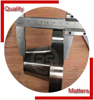 ASME B16.47 / ANSI B16.5 Reducing Flanges Inspection