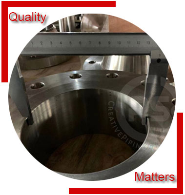ASME B16.47 / ANSI B16.5 Ring Type Joint Flanges Inspection