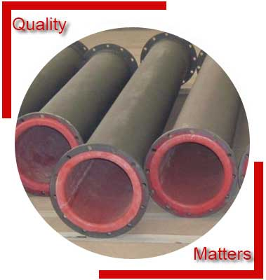 Rubber Lined Spool Pipe Material Inspection