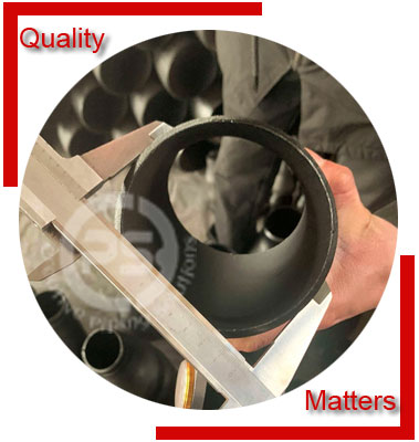 Seamless Pipe Fittings Material Inspection