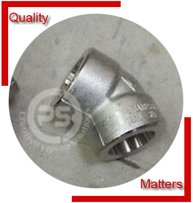 Socket Weld 45 Degree Elbow Material Inspection
