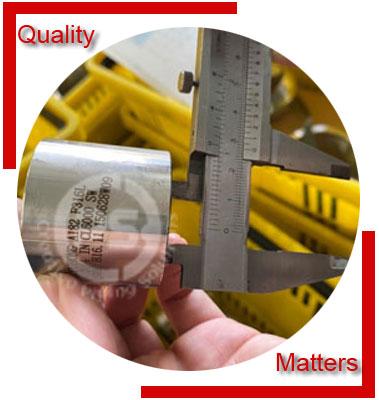 ANSI/ASME B16.11 Socket Weld Full Coupling Material Inspection