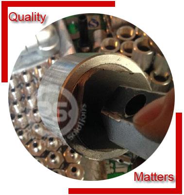 Socket Weld Pipe Cap Material Inspection