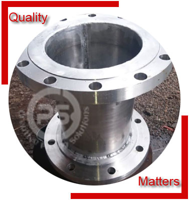 Stainless Steel Flanged Concentric Reducer Material Inspection