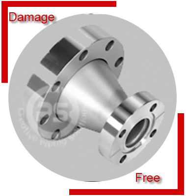 Stainless Steel 321 Flanged Concentric Reducer Packing & Forwarding