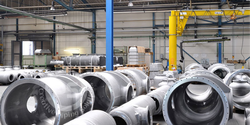 Stainless Steel Fabricated Pipe Headers Manufacturer