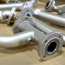 Stainless Steel Flanged Pipe Spool