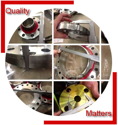 Alloy 20 Flanges Material Inspection